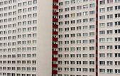 панельный дом — Стоковое фото