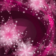 Greeting or invitation card, abstract floral background — 图库矢量图片