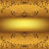 Vintage złote tło — Wektor stockowy