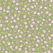 Small flowers seamless pattern — Stock Vector