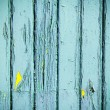 Blue weathered wooden planks background — Stock Photo