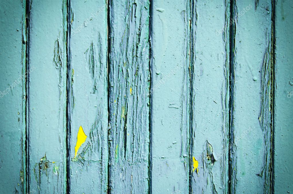 Blue weathered wooden planks background with textured pattern   Stock Photo #10735045