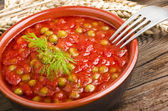 Sauce of tomatoes — Stock Photo