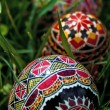 Painted Easter eggs 9 — 图库照片