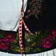 Stock Photo: Traditional Romanifolk costume.Detail 9