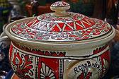 Cerâmica tradicional romena 1 — Fotografia Stock