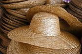 Straw hats 1 — Stock Photo