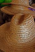 Straw hats 2 — Stock Photo