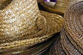 Straw hats 4 — Stock Photo
