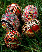 Painted Easter eggs 24 — Stock Photo