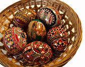 Painted Easter eggs 25 — Stock Photo