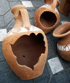 Clay forms (2) — Stock Photo