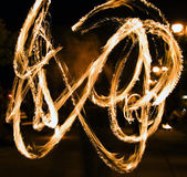 Fire show 2 — Stock Photo