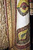 Traditional Romanian folk costume.Detail 17 — Stock Photo