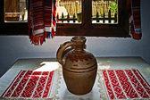 Romanian traditional home interior 4 — Stock Photo