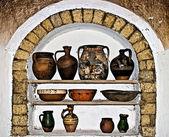 Romanian traditional home interior 11 — Stock Photo