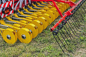 Agricultural equipment. Detail 7 — Stock Photo
