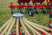 Agricultural equipment. Detail 10 — Stock Photo