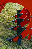 Agricultural equipment. Detail 11 — Stock Photo