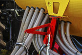 Agricultural equipment. Detail 13 — Stock Photo