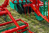 Agricultural equipment. Details 27 — Stock Photo