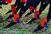 Agricultural equipment. Details 44 — Stock Photo