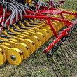 Agricultural equipment. Details 51 - Stock Photo