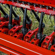 Agricultural equipment. Details 54 - Stock Photo