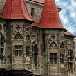 Stock Photo: Dracula's Castle.Details 2