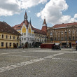 Stock Photo: TraiSquare in Timisoara, Romania