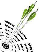 Posicionamiento en buscadores, seo, buen ranking — Foto de Stock