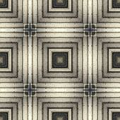 Seamless line pattern, aged floor tiles — Stock Photo