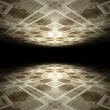 Floor and ceiling infinite abstract background texture - Stock Photo