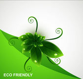 Abstract Eco ecology paper Vector — Stock Vector