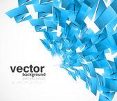 Vettore lucido struttura colorato astratto blu — Vettoriale Stock