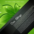 Vector de stock : Abstract vector editable website template