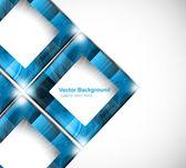 抽象炫彩蓝色圆圈背景矢量 — 图库矢量图片