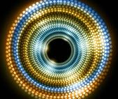 αφηρημένη νέα λαμπερά και πολύχρωμο κύκλο ράστερ διάνυσμα — 图库矢量图片