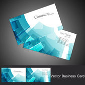 Business card set vector design — Stock Vector