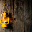 Stock Photo: Kerosene lantern