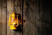 Kerosene lantern — Stock Photo