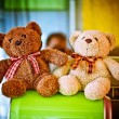 Stock Photo: Stuffed bears