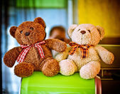 Stuffed bears — Stock Photo