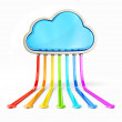 Cloud computing — Stock Photo #11937461