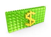 Konzeptionelle Geld — Stockfoto