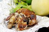 Pollo arrosto — Foto Stock