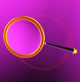 A large gold loop — Stock Photo