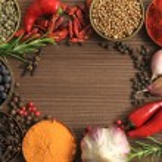 Постер, плакат: Spices frame