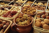 Nut varieties — Stock Photo