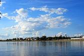 Blauer himmel — Stockfoto